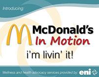 Promotion - McDonalds In-Motion