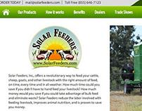 Solar Feeders Website Design