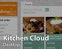 Kitchen Cloud Desktop UI