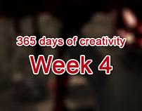 365 days of creativity/art - Week 4