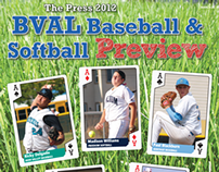 2012 BVAL Baseball & Softball Preview