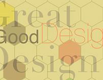 Geometric Layout, Typographic Exploration