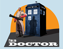 Doctor Who/TF2 Mashup