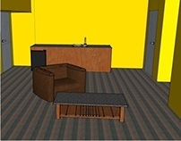 Double Suite SketchUp