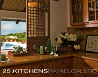 25 Kitchens by Rafael Calero (Coffee Table Book)