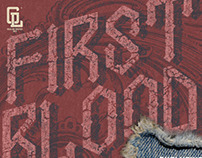 GL Firstblood Typeface