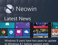 Neowin App Idea for Windows Phone 8