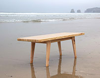 PLY WOOD SCRAP COFFEE TABLE