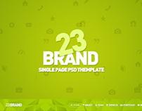 23 Brand PSD