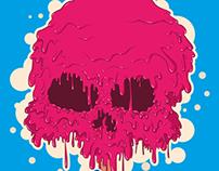 ice crime skull