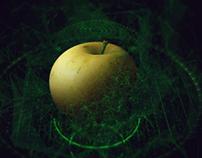 3d apple hud