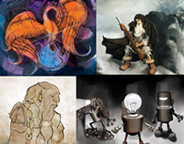 Porfolio: Characters, Landscapes and Illustration