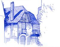 Paris - direct Drawings