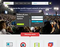 Blogabet Website Design