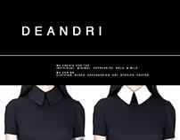 Webdesign Shoe Brand