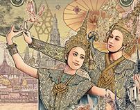 Thai Airways calendar 2015