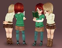 Kimi and Jade