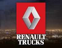 Proposition site Renault Trucks - consultation pour DDB