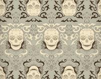 Les Crânes Pattern
