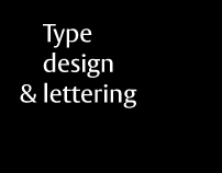 Type design & lettering