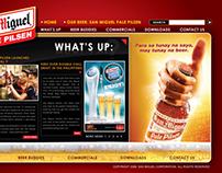 San Miguel Pale Pilsen and San Mig Light Website
