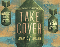 """Take Cover"" Concert Poster"