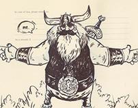 INKtober project doodles