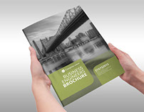 Business Engineers Green Indesign Template