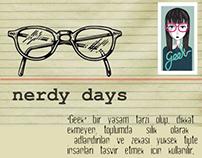 Geek inspired Party Girl Dress