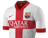Fc Barcelona. Nike concept jerseys