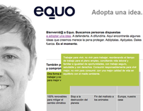 Adopta una Idea. Proyecto eQuo.