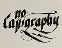 From zero calligraphy project