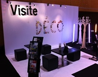 Conception & amenagement stand Visite Déco - Amenago