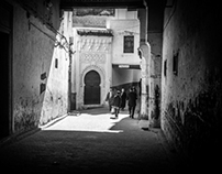 In the streets of Fez (Morocco)