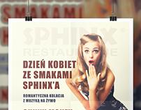 Sphinx Restaurant Poster