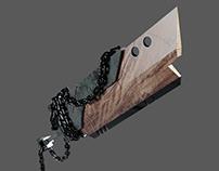 Broken sword modeling