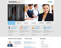 Business Corporation Joomla Template