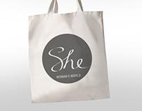 She, branding