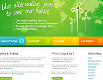 Green Soul Alternative Power Joomla Template 300111146