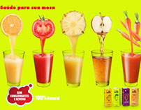 Suco 100% natural