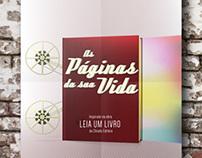 """Ad """"As Páginas da Sua vida"""" - Read a Book"""