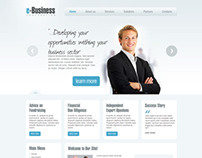 E-Business Corporation Joomla Template 300111194