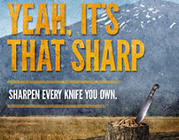 Work Sharp Ad Campaign 2013