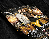NYE Elegance Party | Flyer + FB Cover