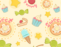 Dessert Junkie Pattern
