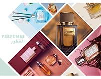 Perfume Banner Design