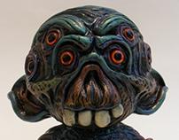 Worm Eater (7 Inch Kidrobot Munny Custom)