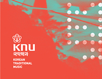 KNU KOREAN TRADITIONAL MUSIC CONCERT PAMPHLET