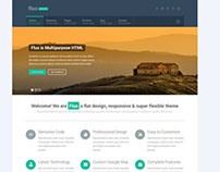 Flux - Flat Corporate Wordpress Theme 2