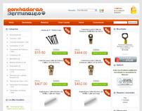 Pagina de Internet Ponchadoras y Terminales.com